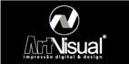 Logo ArtVisual Impressão Digital & Design