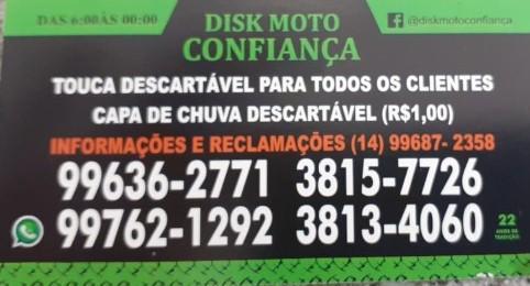Disk Moto Confiança