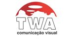 Logo TWA Comunicação Visual