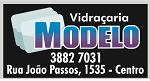 Logo Vidraçaria Modelo