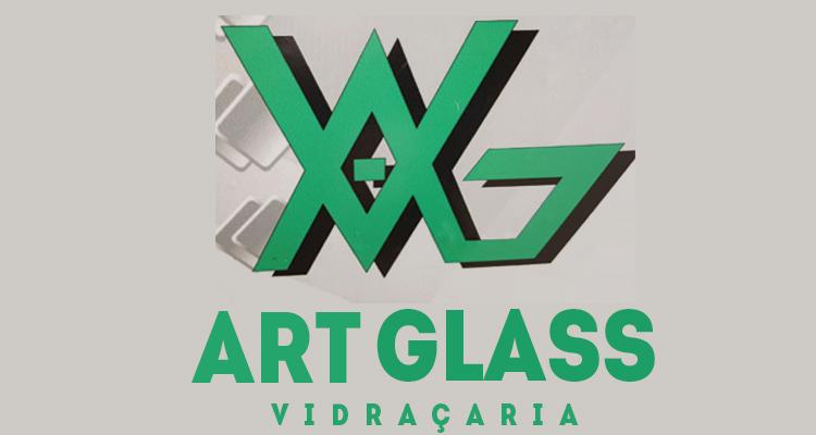Logo Art Glass Vidraçaria