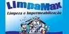 Logo Limpamax Limpeza e Impermeabilização