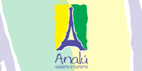 Logo Analú Viagens e Turismo