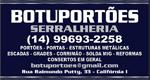 Logo BotuPortões Serralheria