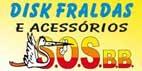 Logo Disk Fraldas SOS BB