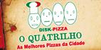 Logo O Quatrilho Pizzaria - Novo Endereço