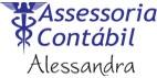 Logo Alessandra Assessoria Contábil