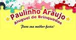 Logo Paulinho Araújo Aluguel de Brinquedos
