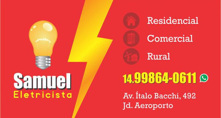 Logo Samuel Eletricista