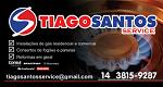 Logo Tiago Santos Instalações de Fogões