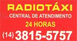 Logo Rádiotáxi - Cooperativa de Botucatu