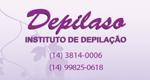 Logo Depilaso - Depilação e Estética