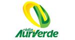 Logo Rádio Auri Verde de Bauru