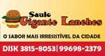 Logo Saulo Gigante Lanches