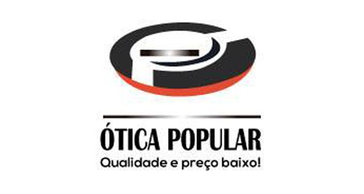 Logo Ótica Popular