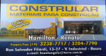 Logo Constrular Materiais para Construção