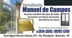 Logo Serralheria Manuel de Campos