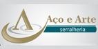 Logo Aço e Arte Serralheria