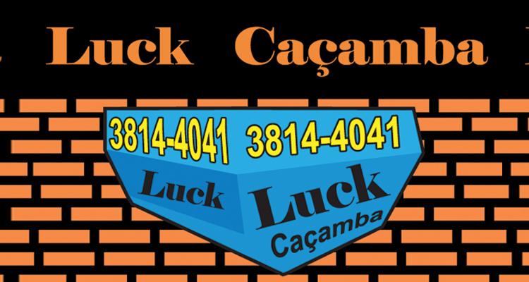 Logo Luck Kaçamba e Construção
