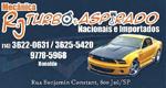 Logo RJ Turbo e Aspirado