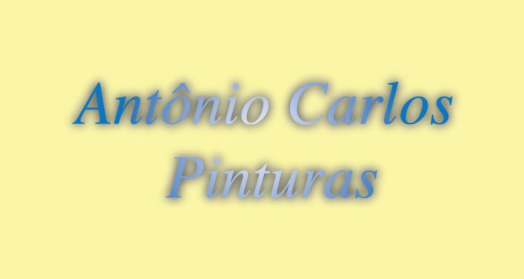 Logo Antônio Carlos Pinturas (Preto)