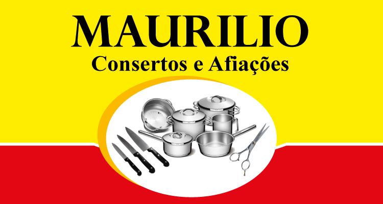 Logo Maurílio Consertos de Panelas e Afiações