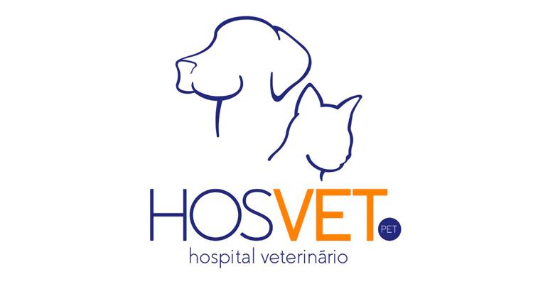 Logo HosVet Pet - Hospital Veterinário