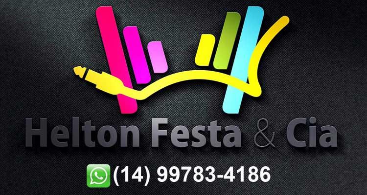 Logo Helton Festa e Cia