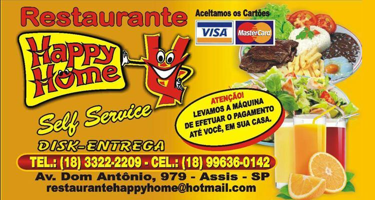 Logo Restaurante Happy Home