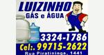 Logo Luizinho Gás e Água