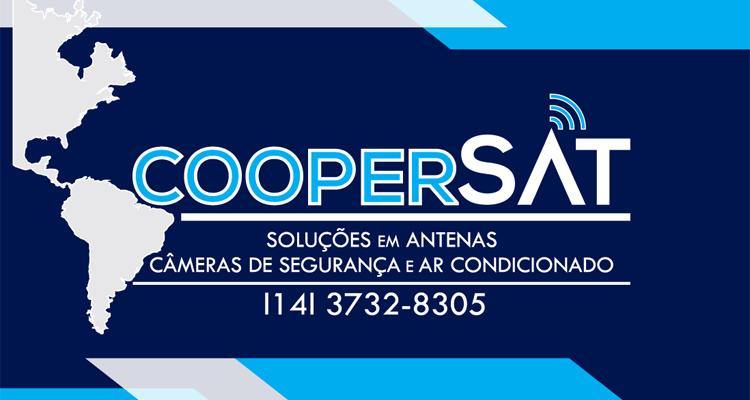 Logo Coopersat Soluções em Antenas, Câmeras de Segurança e Ar Condicionado