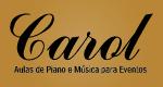 Carol Aulas de Piano e Música para Eventos