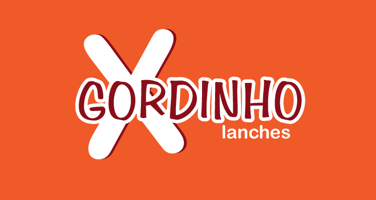 Logo X Gordinho Lanches