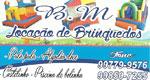 Logo BM Locações de Brinquedos