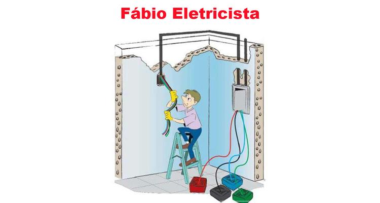 Logo Fábio Eletricista