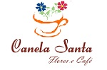 Logo Canela Santa Flores e Café
