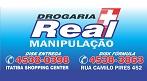 Logo Drogaria Real - Loja 1