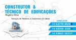 Logo Rogério Silva - Construtor e Técnico em Edificações