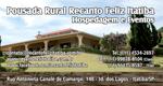 Logo Pousada Recanto Feliz Itatiba