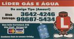 Logo Líder Gás e Água