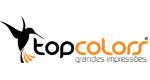 Logo Topcolors Grandes Impressões