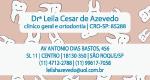 Logo Drª Leila César de Azevedo