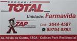 Logo Drogaria Total - Unidade Farmavida