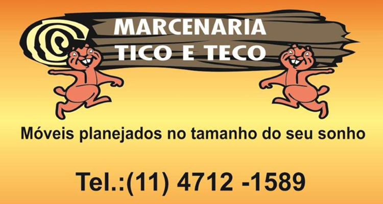 Logo Marcenaria em São Roque Tico&Teco