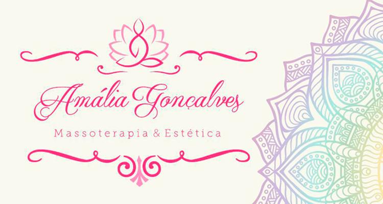 Logo Amália Gonçalves Estética