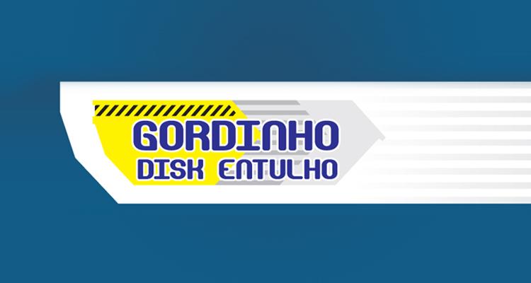 Logo Disk Entulho Gordinho Disk Entulho