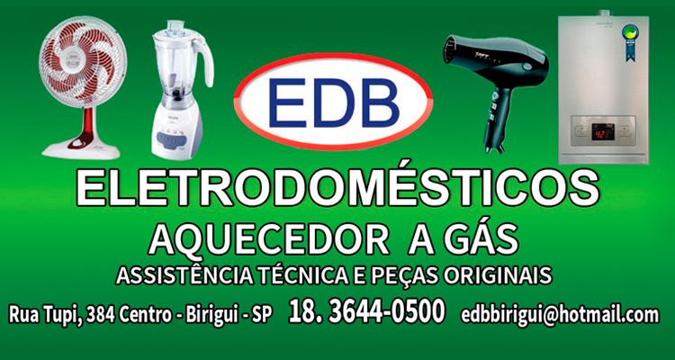 Logo EDB Eletrodomésticos