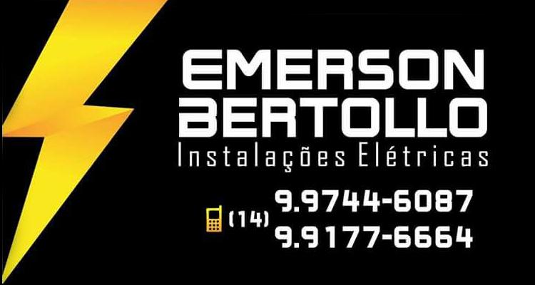 Logo Emerson Bertollo Instalações Elétricas