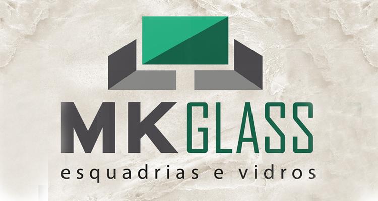 Logo Vidraçaria em São Roque MKGlass