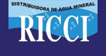 Logo Distribuidora de Água Mineral Ricci